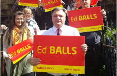 Ed Balls himself joined in on Ed Balls Day celebrations earlier