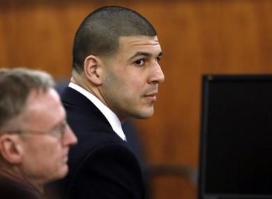 Hernandez in court.