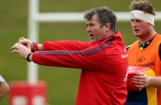 These are the law changes Anthony Foley thinks could improve rugby