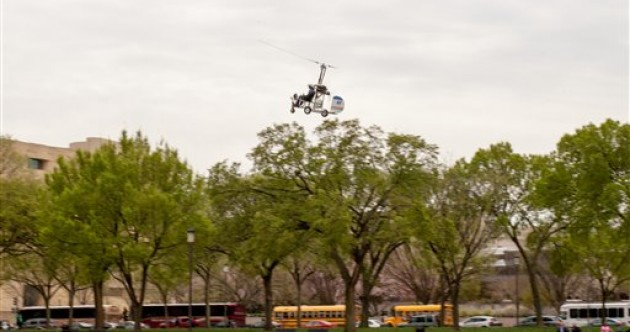Panic at US Capitol after postman lands a helicopter outside