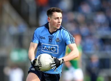 Cormac Costello starts at full forward for Dublin.