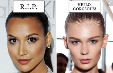 Cosmo used white models for 'gorgeous' trends and some black models for trends that 'need to die'