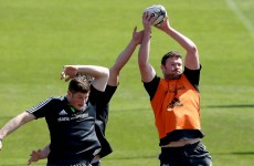 For the first time in 13 long months, Donnacha Ryan starts for Munster