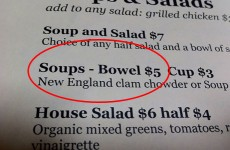 14 of the most unfortunate menu translation fails