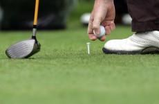 Norwegian golfer nails an over-the-shoulder trick shot
