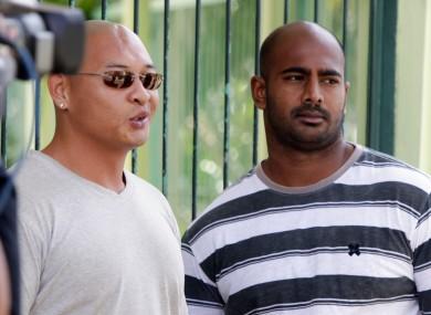 Death-row prisoners Myuran Sukumaran and Andrew Chan
