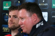 O'Connor relieved but praises Leinster for 'a pretty good job' against Bath
