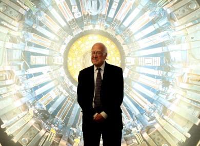 Nobel laureate Professor Peter Higgs at the Science Museum, London.