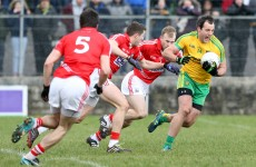 Murphy back from suspension for Donegal as Cork make 8 changes for league semi-final