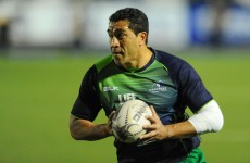 Former All Black Mils Muliaina is leaving Connacht at the end of the season