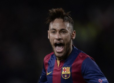 Barcelona striker Neymar has a big future, according to Alex Ferguson.