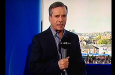 This RTÉ presenter had an amazing slip-up on live TV yesterday