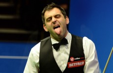 Ronnie O'Sullivan has responded to shoes-gate