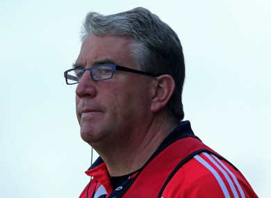 Cork U21 football manager Sean Hayes has revealed his hand