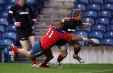 Should Simon Zebo have been awarded this contentious try in Edinburgh last night?