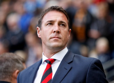 Mackay only became the Wigan manager in November of last year.