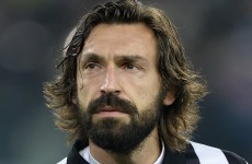Even Torino's giant bull enjoyed bearded gent Andrea Pirlo's stunning free kick
