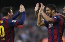 Pep and Bayern, beware! Barcelona's 3 amigos absolutely ran riot tonight