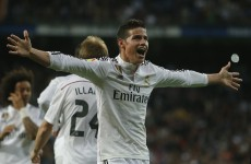 James Rodriguez might retain his FIFA Goal of the Year award after this volley