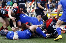 A sensational second half Dragons comeback could have ended Leinster's Pro12 playoff hopes