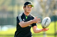 Munster's Kiwi import will make his first appearance for the province tomorrow