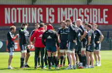 Zebo, O'Mahony and TOD miss out as Munster forced into back row shuffle