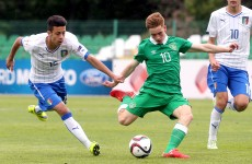 Ireland's U17s have it all do to progress to the knockout stages after today's result
