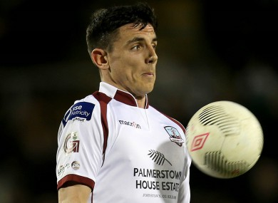 Enda Curran netted a brace for the Tribesmen.