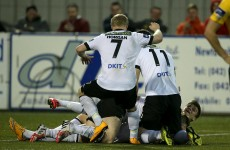 Dundalk were far from their best tonight but still got the job done thanks to late drama