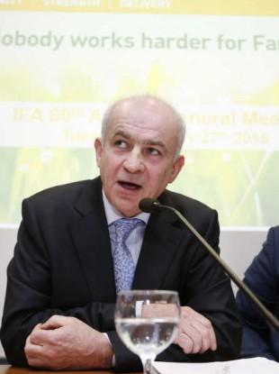 Head of the IFA Eddie Downey