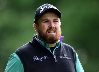 Lowry was ranked 55th in the world ahead of this week's tournament.