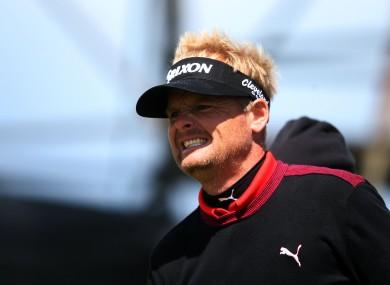 Soren Kjeldsen dropped four shots on the front nine but still managed to pull off the victory.
