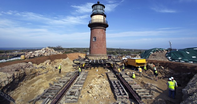 Here's how to move a lighthouse