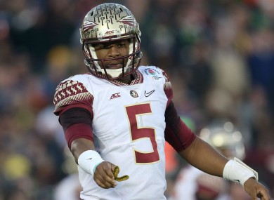 New Tampa Bay Buccaneers quarterback Jameis Winston.