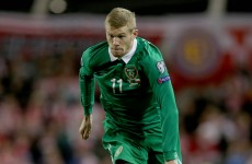 James McClean has some advice for Jack Grealish
