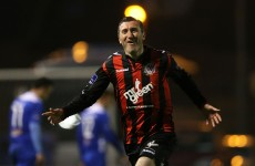 Old dog, same trick! 37-year-old Jason Byrne was Bohs' supersub