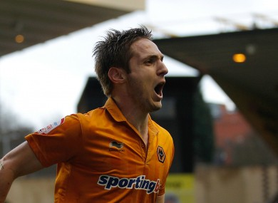 Former Wolves striker Kevin Doyle.