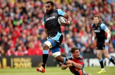 Glasgow tried to convince Nakarawa not to offload against Munster, it did not work