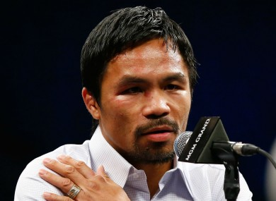 Manny Pacquiao: will he face Money again?