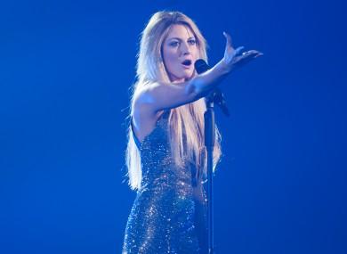 Greek singer Maria Elena Kyriakou