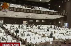 WATCH: The terrifying moment the Nepal quake struck the parliament