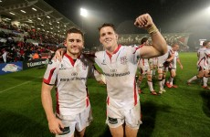 Ulster are without one of their most devastating flyers for tomorrow's big provincial derby