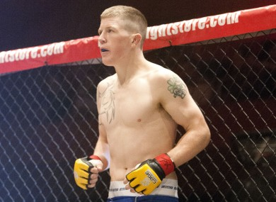 Irish UFC fighter Paul Redmond.