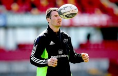 Captain O'Mahony and Zebo fit to start Munster's Pro12 semi-final in Thomond