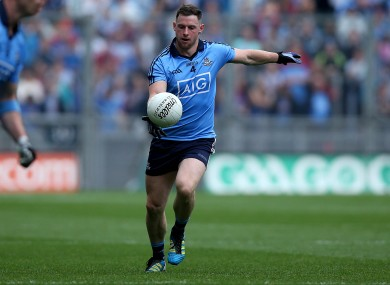 Philly McMahon in action with Dublin.