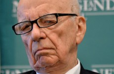 Rupert Murdoch's newspaper empire has hit the wall hard