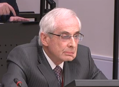 John Hurley retired from the Central Bank in 2009