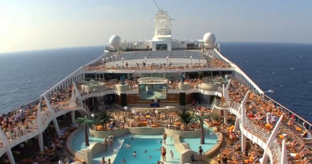 This MONSTER cruise liner will be parked up in Dublin next week