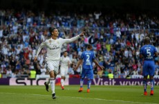 Ronaldo secures Golden Boot with ANOTHER hat-trick as Madrid rack up seven