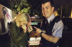 Ellie Goulding got herself into a spot of bother in Cork last night…